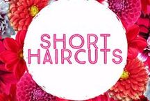 Short women's Haircut Inspirations / The latest techniques and styles for our clients to browse during consultations with stylists.
