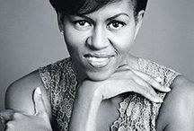 Michelle Obama - Inspirational women / Michelle Obama The first lady