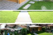 Riqualificazione giardino e legnaia - Civenna