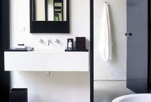 interior - powder room
