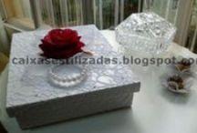 Caixas estilizadas casamento e diversas / Wedding wood boxes
