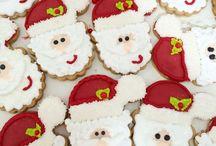 Bolachas e afins / Santa cookies  Christmas cookie / by Karina Renck