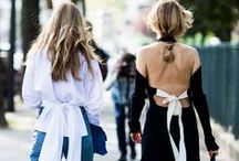 FASHION | ON THE STREET / Street style that inspires my everyday wardrobe aspirations. Plus, outfits I just love looking at.
