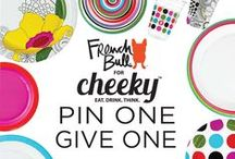 Pin One. Give One. / Choose French Bull for Cheeky, help end hunger. Through July 19, 2015, Cheeky will donate one meal through Feeding America to an individual in need for every repin from the Pin One, Give One Board.