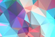 GEOMETRIC | iPhone Wallpapers / Give your mobile phone a fancy makeover with this collection of geometric, polygon, and low poly wallpapers and lockscreens! Make sure to follow this board for daily new mobile backgrounds.