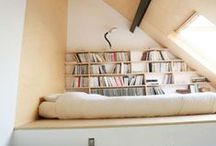 HOME | BOOKISH CORNERS / Inspiring bookcases