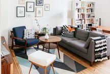 LIVING ROOM / diseño de interiores