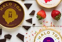 Scoop It Uppp / We have 17 flavors to scoop from! All-natural ice cream that not only tastes good, but is good for you. More details here: https://www.halotop.com/flavors/