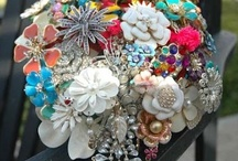 Sparkly & Shiny: Jewelry Re-Do / It is has some bling, rhinestones, sparkles, etc. - it is a fave!