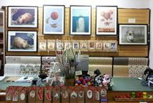 We ♥ Our Stockists / Displays by our stockists throughout Australia and New Zealand. For a full list of stockists, visit lalalandshop.com.au