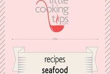 Recipes - Seafood / Delicious recipes with seafood such as shrimp, clamps, lobster, oysters, mussels, squid, cuttlefish or octopus!