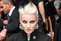 +Daphne Guinness+ / ¥ Daphne Diana Joan Susanna Guinness Is An Artist Of Both British And Irish Nationality And An Icon In The World Of Fashion Born On November 9, 1967 ¥  / by Madame Mort