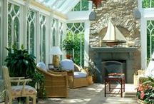 Conservatories / People use conservatories for different reasons: an extra dining area, a study room, a laundry room or just an extra living space. If you are looking for ideas on what to do with your conservatory, check out our pins below.
