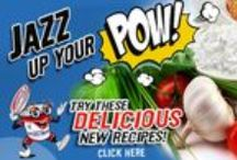 POW!  Jazz Up Your Cottage Cheese / Fun and tasty add ins to give your Umpqua Dairy Cottage Cheese more zip! Power up with Protein.