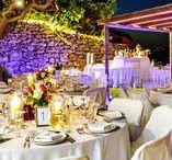 Wedding Reception Venues / Examples of Wedding Reception Venues used by Weddings in Crete.