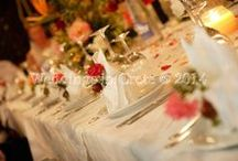 Table Decorations and Wedding Favours / Examples of Table Decorations and Wedding Favours at our Weddings