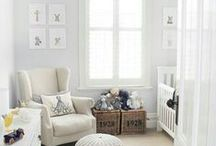 Nursery Decor / Nursery decorating for the chic and sophisticated Mom