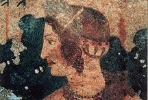 Etruschi - Affreschi