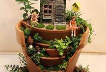 jardin en miniatura / suculentas  mini jardines mini adornos