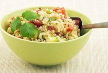 A - Quinoa, cous cous, farro e cereali