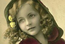 Nostalji / Eski çocuk fotoğrafları