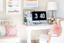 Office Space / Home Office | Workspaces | Organization Ideas