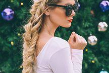 Braids / Braids and cute hair style :)
