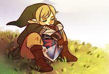 Legend of Zelda / by Grace Greenberg