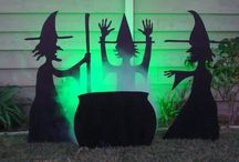 Halloween Deco's and Party Ideas / by Bonnie Parsons