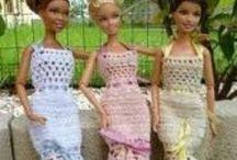 Crochet Toys Barbie Clothes / by Bonnie Parsons