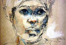 women in art / by Marilynn