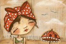 She art / Art journal / .... Mix media, canvas .. Nádhera, kterou obdivují.