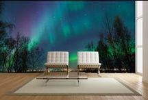 Night Sky Wall Murals / The sky at night has a special power. It can be romantic, magical and sometimes frightening. Whatever mood you want to portray, find it here with a Night Sky wall mural.