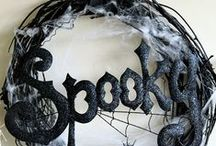 Halloween - Wreaths / Be sure to check out all of my other Halloween boards.