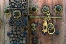 old doors - eski kapılar / by GÜL
