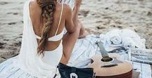 Beach Travel / For the girl who eat's drinks and breaths the beach. Find coastal living inspo, bohemian lifestyle at the ocean. Palm trees lining the coast. Sunsets on the beach. Beach parties.