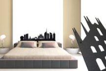 Testate letto - Testiere letto / Testata letto, testiera per letto matrimoniale dal design moderno realizzato in metallo con tecnologia taglio laser.