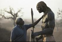 Ousman Sow - Artist / Respect pour l'humanité et la puissance de son travail. Les guerriers masaï magnifiques.