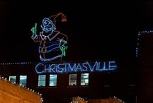 Christmasville - Old Town Rock Hill, SC / Annual Christmas Festival in downtown Rock Hill, SC