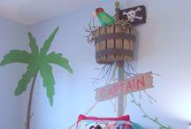 Pirate bedroom - Treasure Island - Peter Pan / Jake / Octonauts? / by aburling
