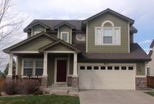 Coverwell Houses / Houses we have painted in Colorado