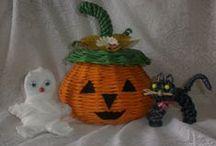 Moje pletení z papíru / Hobby