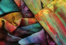 Textilis / texere (zusammenfügen). Textilien und Muster. Patterns
