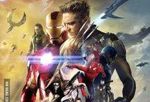 Marvel Universe / Captain America, Wanda & Pietro Maximoff, Black Widow, Hawk Eye, Iron Man/RDJ, Sons of Asgard, Nick Fury, Agent Coulson, Bruce Banner, Sam Wilson, Guardians of the Galaxy, Groot, S.H.E.I.L.D :) The Amazing Spider Man, X-Men, Ultron