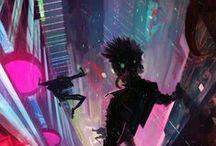 cyberpunk/futurism
