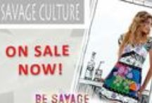 Savage Culture - Summer 2014 / This gorgeous Spanish label is full of colour & abstract design, and can be purchased online. Limited quantities & sizes are available so be quick!
