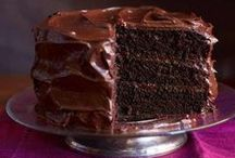 chocolate dessert love / - huge chocolate lover, every day I have to have at least a little bite, chocolate inspiration in all of it's sweet glory-