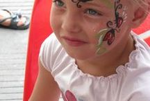 face painting bugs / face painting bugs