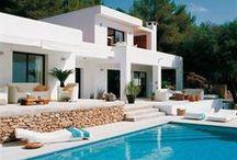 Ibiza style houses & Interior