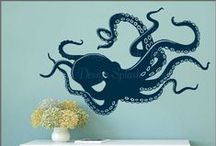 Max's Room / Max loves octopuses and this board is about what his bedroom cold look like with an underwater-esque theme